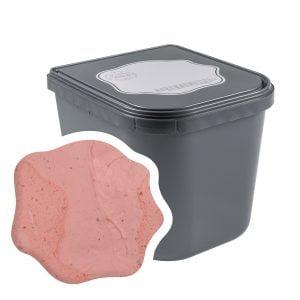 Aardbei Peper sorbet ijs 2,5 liter Horeca van ijsmakerij ci Vediamo