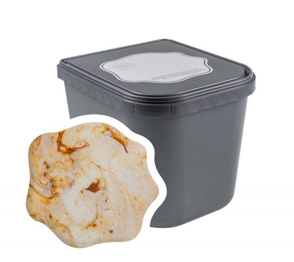 Popcorn Caramel Zeezout room ijs 2,5 liter Horeca | IJsmakerij ci Vediamo