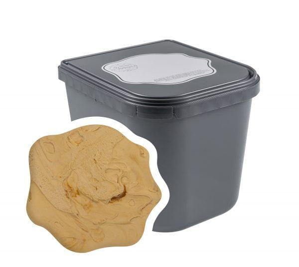 Toffee Caramel room ijs 2,5 liter Horeca   IJsmakerij ci Vediamo